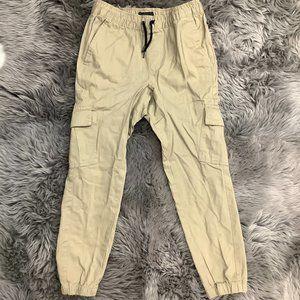 Amplify | Boy's Cargo Pants | Khaki
